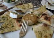 Review Of Deconstructed Pizzetta At Tra Vigne